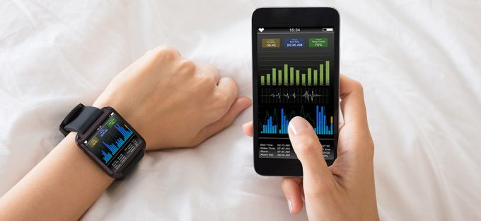 Smart App and watch for tracking sleep